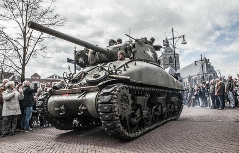 Foto Sherman Tank